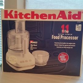 Kitchen Aid 11 cup food processor  - in the original box