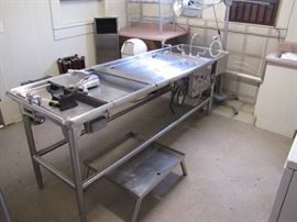 Autopsy Embalming Table