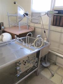 Autopsy Embalming Table Sink