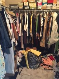 Ladies clothes & shoes. SZ small to large
