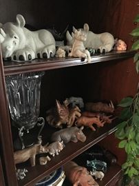 LARGE RHINO COLLECTION