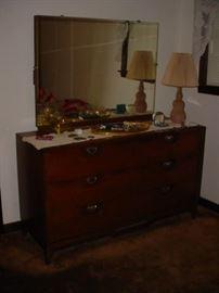 Bedroom dresser, part of the suite