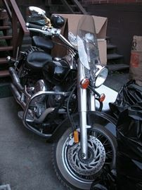 Yamaha 650 V Star for repair; 37,500 miles