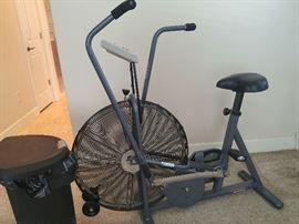 Work - Out Bike Schwinn Airdyne Comp Dual action Cardio start Price $140.00