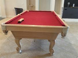 Olhasuen Pool table start Price $3000.00