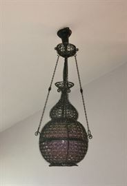 Retro hanging light