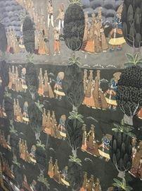 Krishna & his concubines