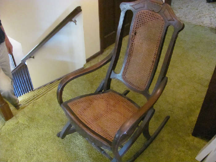 Antique rocker (1 of 3)