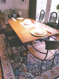Antique Oak Pub Table