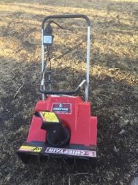 Chieften Electric Snow Blower works great