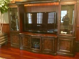 Drexel Heritage Entertainment Wall System (Can accommodate large screen TV)