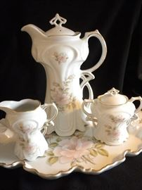 ANTIQUE INSPIRED TEA SET