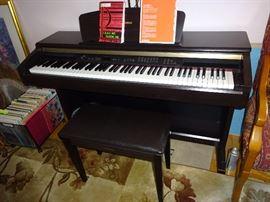 Yamaha Piano - Electric Keyboard
