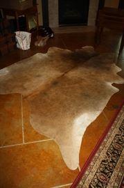 Beautiful cowhide rug