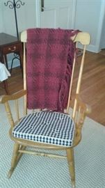 this rocking chair needs a porch!