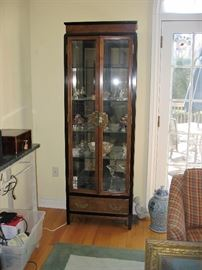 curio Asian style cabinet
