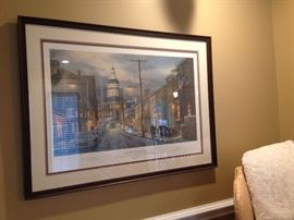 "Paul McGehee ""Winter in Annapolis"""