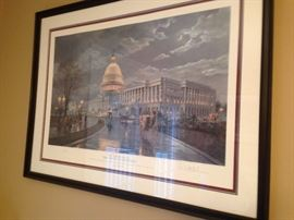 "Paul McGehee ""The Capital by Moonlight"""