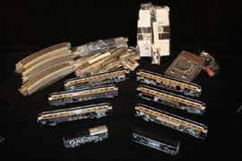 Oakland Raider's Official Train Set