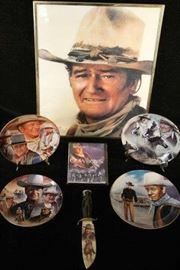 MC073 John Wayne Memorabilia