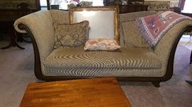 High Sided Roll Settee