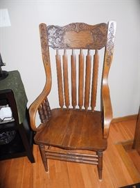 There are three of these - beautiful antique chairs