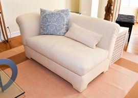 "BUY IT NOW!  Lot #102, 2-Piece Sectional Sofa, Off-White, (Each piece measures 56"" L x 32"" Deep x 30-1/2"" H, Seat is 19"" H), $700"