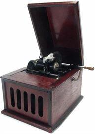 Edison Amberola cylinder player