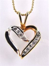 Selection of fine jewelry