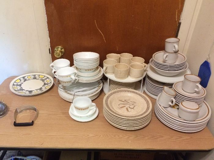 Corelle, Homer Laughlin, Stoneware Dishes