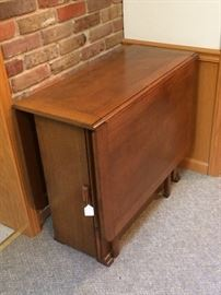 Oak Gate Leg Table w/ Storage