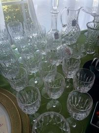 Waterford Stemware and Waterford Collectibles