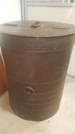 Large decorative barrell