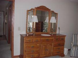 Cochrane Dresser with Mirror (Inc'd with 5 pcs)