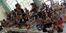 More dolls - a room full!