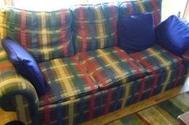 """The matching couch is 88"""" in length."""