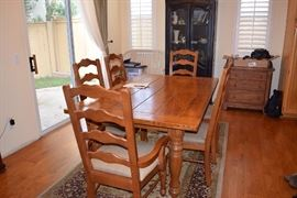 Solid Wood BASSET Dining Table