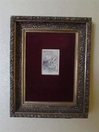 Original Renoir etching with provenance