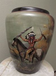 Museum quality one-of-a-kind ceramic pot by  Rick Wisecarver. Signed and dated
