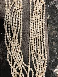 "17"" Pearls, 8 strand"