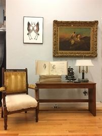 Antiques, Oil Paintings, Prints, Furniture, Lighting