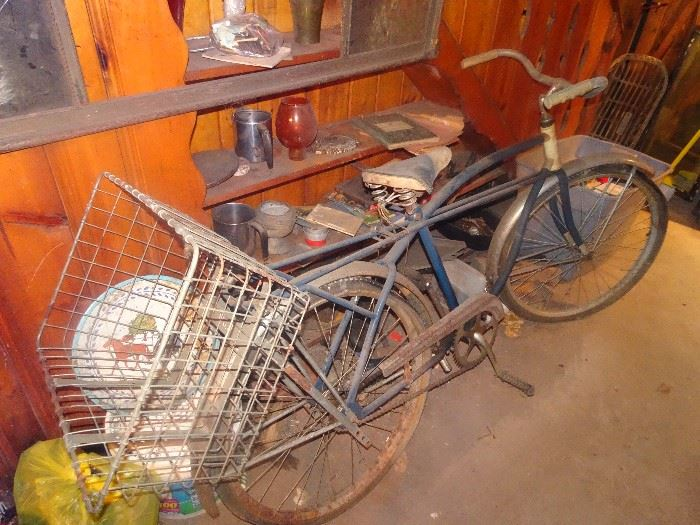 Great Old Bike with Basket