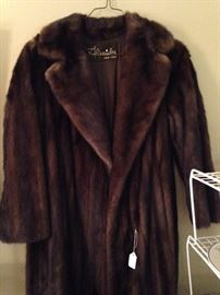 Long mink coat - Furs by Alixaudre of New York