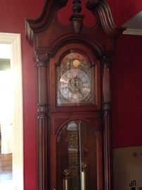 Extra large Howard Miller grandfather clock