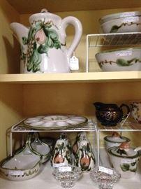 "John B. Taylor stoneware ceramic ""Harvest"" pottery"