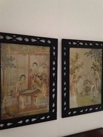 Asian art purchased in China by the in-law missionaries to China