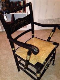 Stenciled Hancock chair