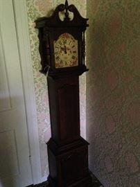 Antique grandmother clock