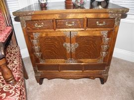 Beautiful handmade oriental cabinet