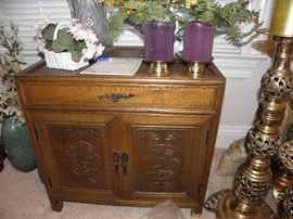 Another hand made oriental cabinet